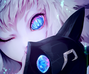 anime, kindred, and league of legends image