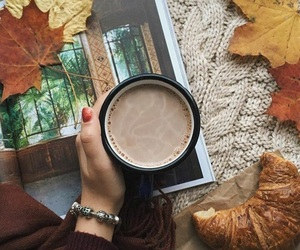 autumn, coffe, and breakfast image