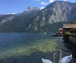 lake, mountain, and travel image