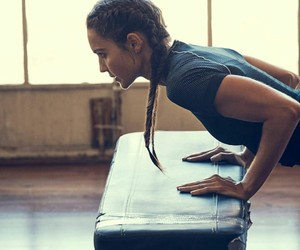 braid, gym, and workout image