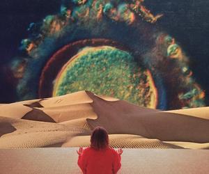 Collage, dessert, and dreamworld image