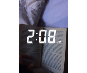 am, bed, and books image