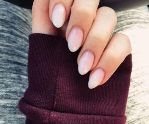 nails, beauty, and acrylic image