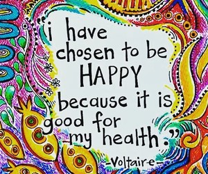 art, happiness, and quotes image