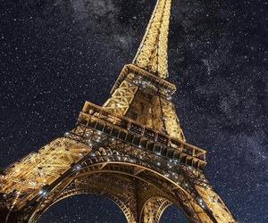 france, lights, and night image