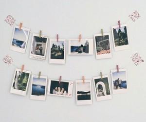 boho, polaroids, and decor image