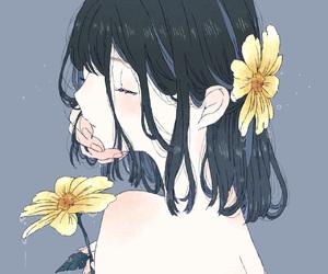 anime girl, art, and beautiful image
