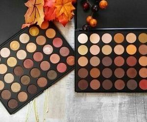 fall, makeup, and autumn image