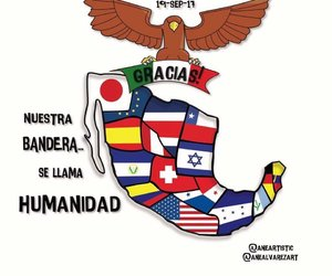 faith in humanity, fraternidad, and fuerza mexico image