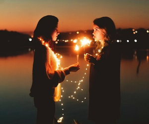 light, friends, and tumblr image