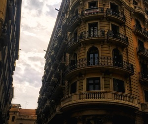 architecture, balcony, and Barcelona image