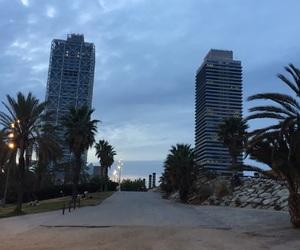 Barcelona, beach, and Espagne image