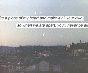 idol, Lyrics, and never be alone image