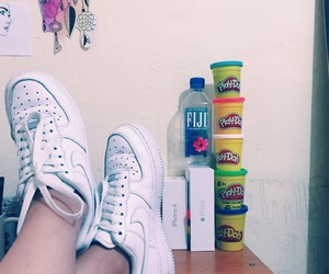 fiji, nike, and shoes image