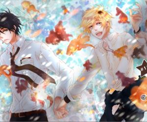 couple, manga, and hitorijime my hero image