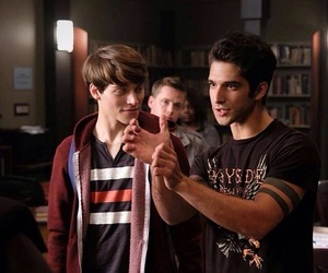scott, teen wolf, and nolan image