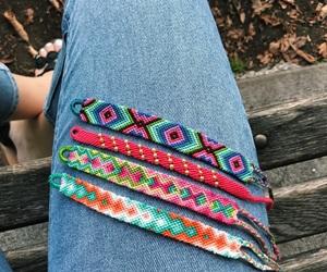 autumn, bracelets, and color image