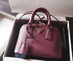 bag, Prada, and luxury image