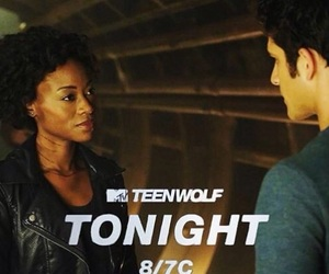 monroe, scott, and teen wolf image