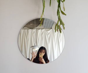 aesthetic, mirror, and ulzzang image