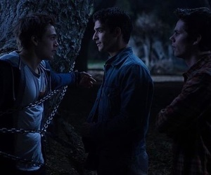 scott, teen wolf, and liam image