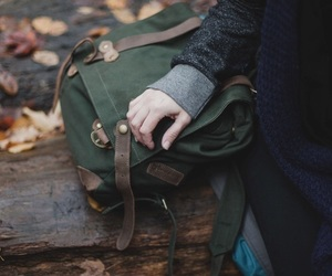 bag, autumn, and aesthetic image