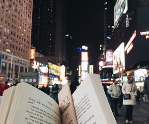 book, city, and read image