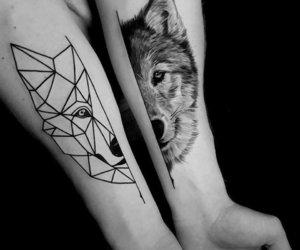 tatuaje lobo image