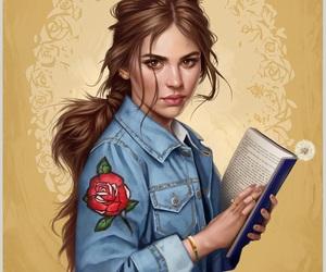 art, belle, and modern image