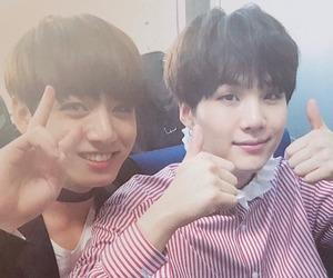 jungkook, bts, and suga image