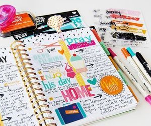 bible, ideas, and journal image