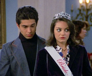 fez, Mila Kunis, and that 70s show image