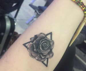 family, rose, and tattoo image