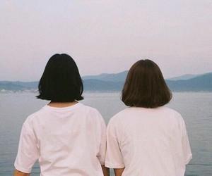 girl and short hair image