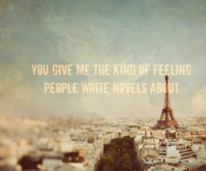love, quote, and novel image
