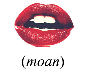 lips, moan, and red image