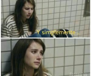 amor, cansada, and desamor image