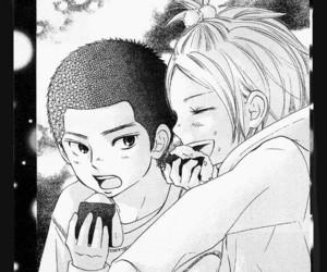 black, ni, and manga image