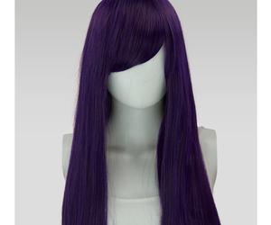 cosplay, purple, and wig image