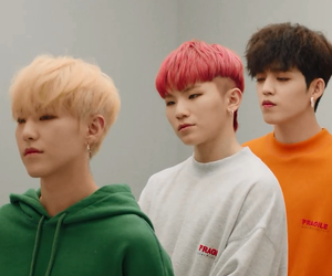 Seventeen, hoshi, and woozi image