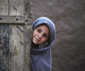 hijab, muslim, and smile image