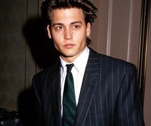 johnny depp, young, and young johnny depp image