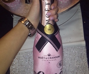 luxury, pink, and champagne image