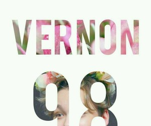 Seventeen, vernon, and wallpaper image