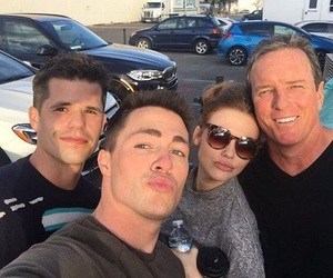 colton haynes, holland roden, and charlie carver image