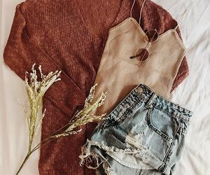 fashion, style, and fall outfit image