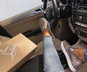 shoes, louboutin, and luxury image