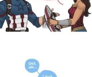 DC, Marvel, and wonder woman image