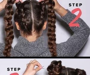 hair and peinado image