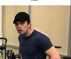 Marvel, bucky, and meme image